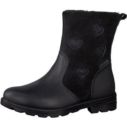 Ricosta STEPHANIE Waterproof Leather Boots (Black)